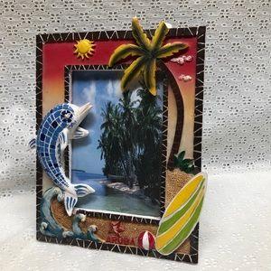 Tropical Photo Frame with Aruba Logo 4X6